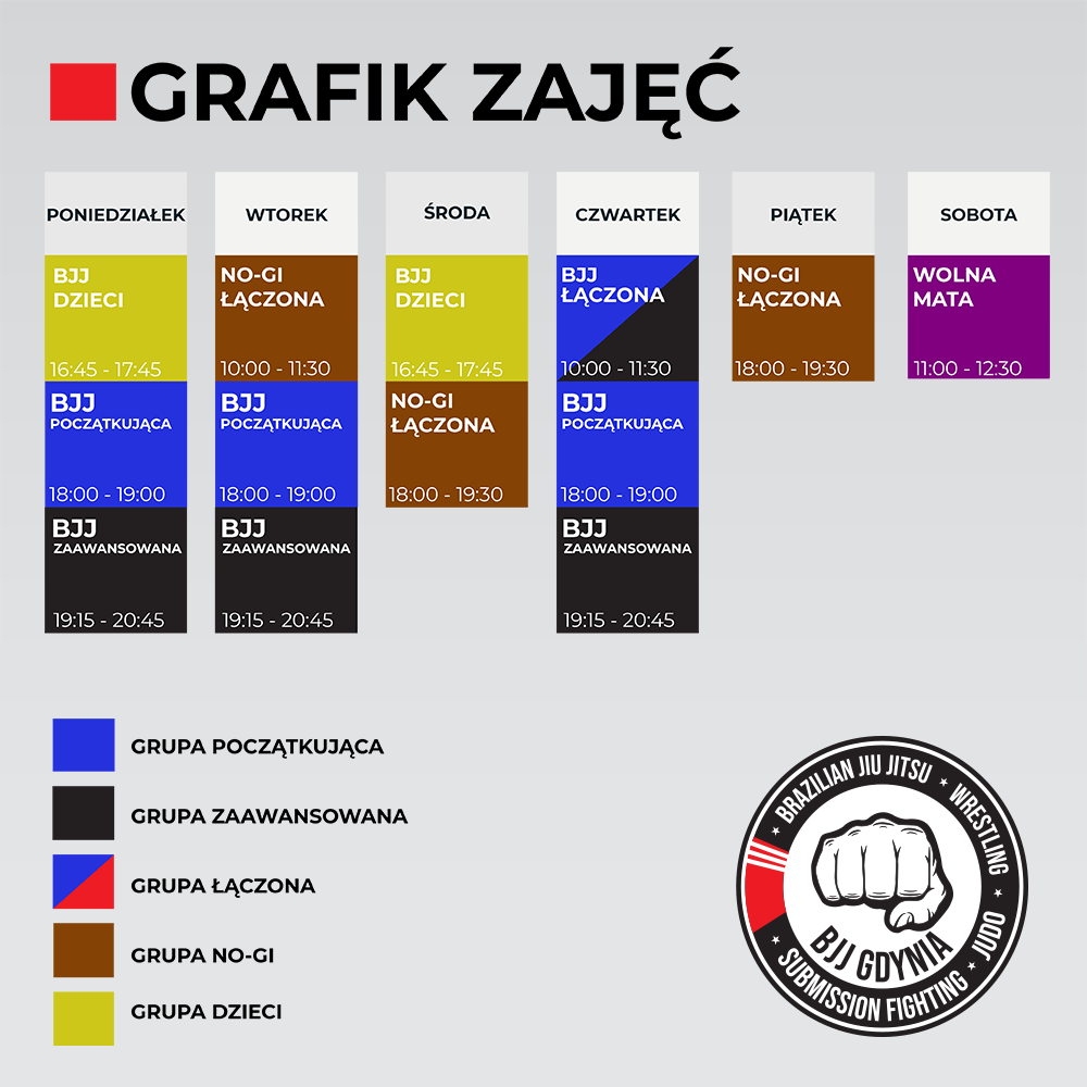 BJJ Gdynia Grafik